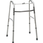 Drive Medical Deluxe Folding Walker, One-Button - 2/cs