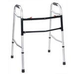 Drive Medical Bariatric, Extra Wide and Deeper Frame, Folding Walker, Two Button -700 lbs. Capacity - 2/cs