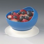Sammons Preston Ableware Scooper Bowl with Suction Cup Base