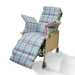 NYOrtho Geri-Chair Comfort Seat Plaid
