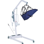 Drive Medical Battery-Powered Patient Lift with 6-Point Cradle - 450 lbs.