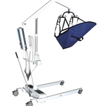 Drive Medical Battery-Powered Patient Lift  with Rechargeable, Removable Battery - 450 lbs.