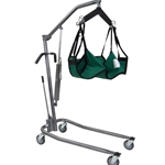 Drive Medical Hydraulic, Deluxe Silver Vein Patient Lift - 450 lbs.
