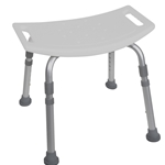 Drive Medical Deluxe Aluminum Shower Bench without Back - 4/cs