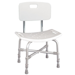 Drive Medical Deluxe Bariatric Shower Chair with Cross-Frame Brace - 1/cs & 4/cs