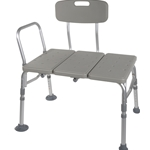 Drive Medical Transfer Tub Bench  Knocked Down Tool-free Back, Legs and Arms - 1/cs & 2/cs