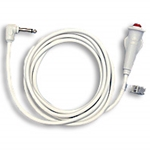 Callcare EasyGrip Single Momentary Nurse Call Cords - Qtr Inch Phone Plug - Oxygen Safe