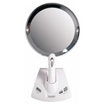 Sammons Preston Lighted Power Zoom Motorized Adjustable Magnification Mirror